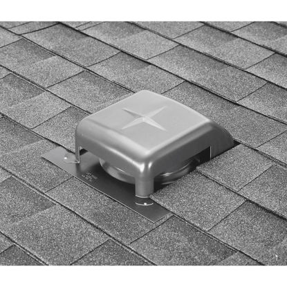 Picture of Airhawk 40 In. Mill Galvanized Steel Slant Back Roof Vent