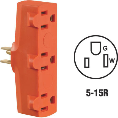Picture of Do it Orange 15A 3-Outlet Tap