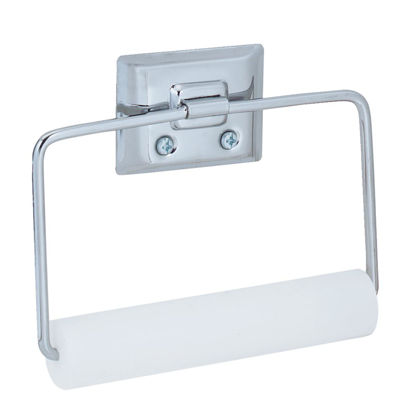 Picture of Decko Chrome Swing Type Wall Mount Toilet Paper Holder