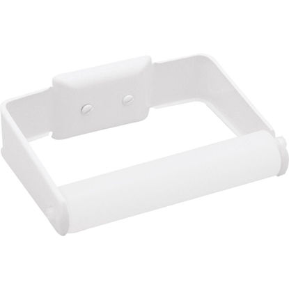 Picture of Decko White Wall Mount Toilet Paper Holder