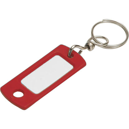 Picture of Lucky Line Flexible Swivel Plastic Tag 2 In. I.D. Key Tag, (2-Pack)