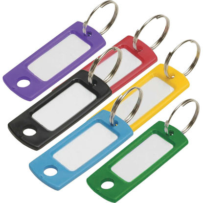 Picture of Lucky Line Flexible Plastic Tag 2 In. I.D Key Tag