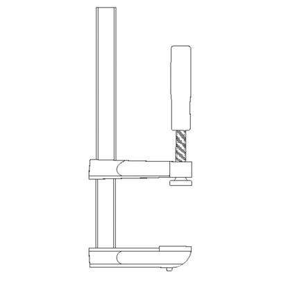 Picture of Do it 6 In. x 2-1/2 In. F-Style Bar Clamp