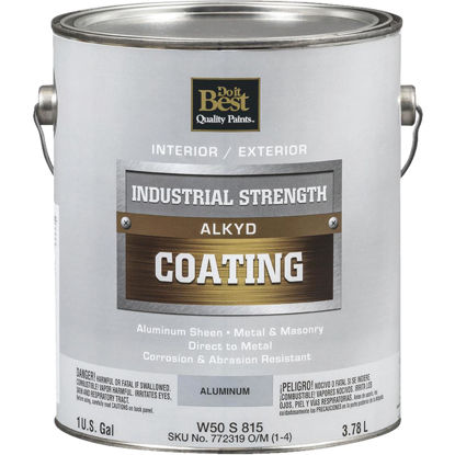 Picture of Do it Best Aluminum Alkyd Industrial Coating, 1 Gal.