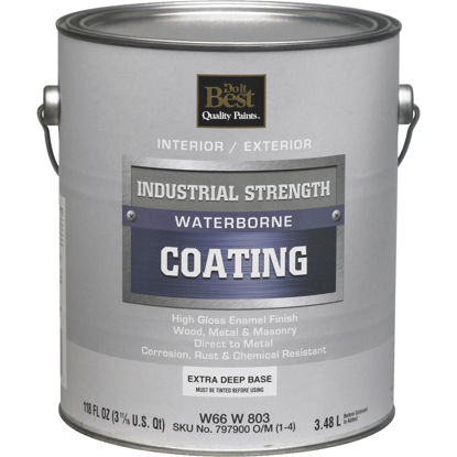 Picture of Do it Best Extra Deep Base Waterborne Industrial Enamel, 1 Gal.