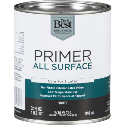 Picture of Do it Best White Exterior Primer, 1 Qt.