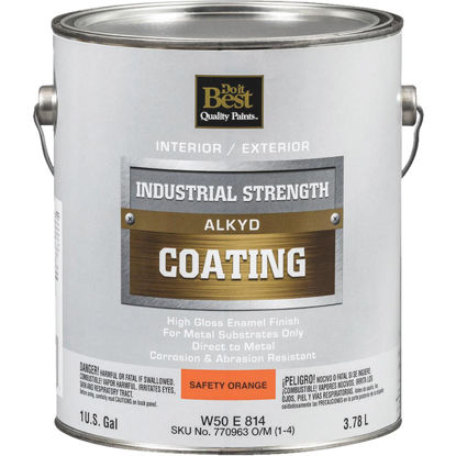 Picture of Do it Best Alkyd Industrial Coating, Safety Orange, 1 Gal.