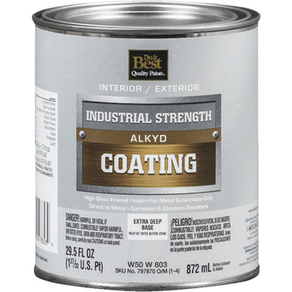 Picture of Do it Best Extra Deep Base Alkyd Industrial Coating, 1 Qt.