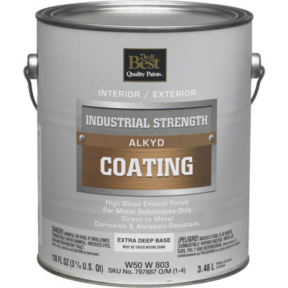 Picture of Do it Best Extra Deep Base Alkyd Industrial Coating, 1 Gal.