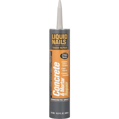 Picture of Liquid Nails Latex 10.3 Oz Concrete Gray Concrete Sealant