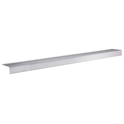 "Picture of M-D Ultra Satin nickel 72"" x 4-1/2"" Sill Nosing"
