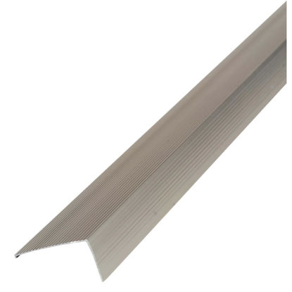 "Picture of M-D Ultra Satin Nickel 36"" x  2-3/4"" Sill Nosing"