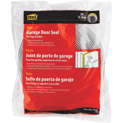 Picture of M-D 1-1/2 In. x 30 Ft. White Vina-Strip Seal for Garage Door