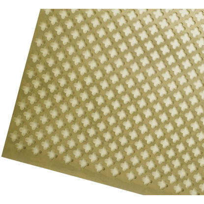 Picture of M-D 3 Ft. x 3 Ft. x .020 In. Gold Cloverleaf Aluminum Sheet Stock