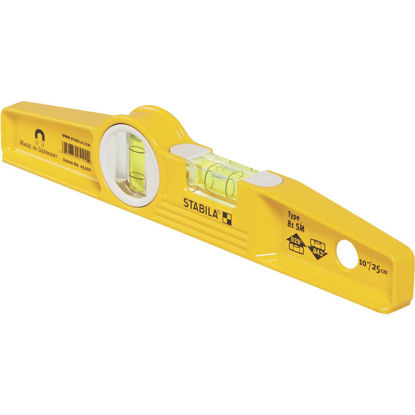 Picture of Stabila 10 In. Aluminum Rare Earth Magnetic Torpedo Level
