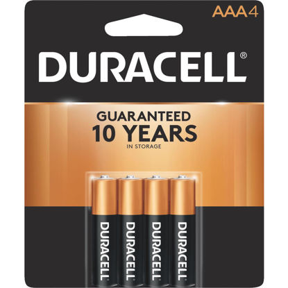 Picture of Duracell CopperTop AAA Alkaline Battery (4-Pack)
