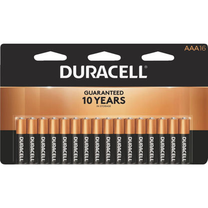 Picture of Duracell CopperTop AAA Alkaline Battery (16-Pack)