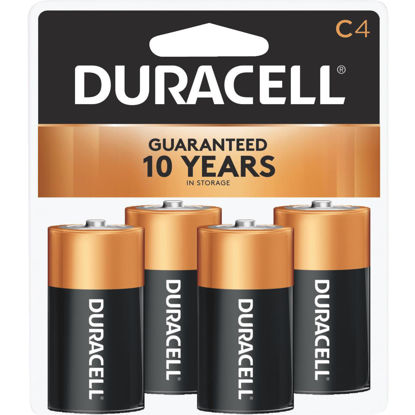 Picture of Duracell CopperTop C Alkaline Battery (4-Pack)
