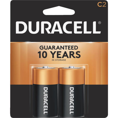 Picture of Duracell CopperTop C Alkaline Battery (2-Pack)