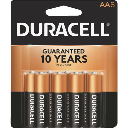 Picture of Duracell CopperTop AA Alkaline Battery (8-Pack)
