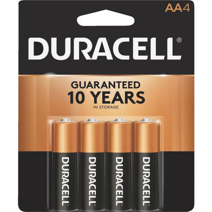 Picture of Duracell CopperTop AA Alkaline Battery (4-Pack)