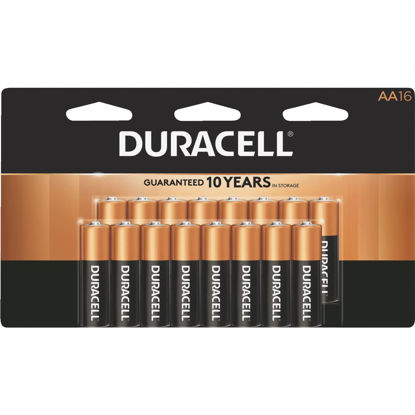 Picture of Duracell CopperTop AA Alkaline Battery (16-Pack)
