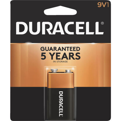 Picture of Duracell CopperTop 9V Alkaline Battery