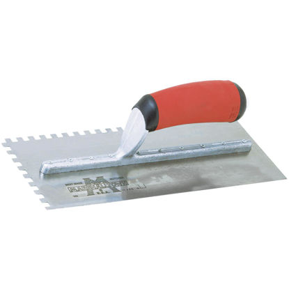 Picture of Marshalltown 1/4 In. Square Notched Trowel