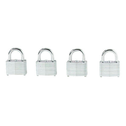 Picture of Do it 1-1/2 In. Warded Steel Keyed Padlocks (4 Pack)