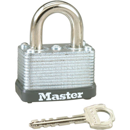 Picture of Master Lock 1-1/2 In. W. Warded Keyed Different Padlock