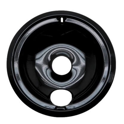 "Picture of Range Kleen Electric 8"" Style B Round Black Drip Pan"