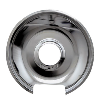 "Picture of Range Kleen Electric 8"" Style E Round Chrome Drip Pan"
