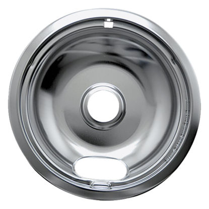 "Picture of Range Kleen Electric 8"" Style A Round Chrome Drip Pan"