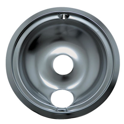 "Picture of Range Kleen Electric 8"" Style B Round Chrome Drip Pan"
