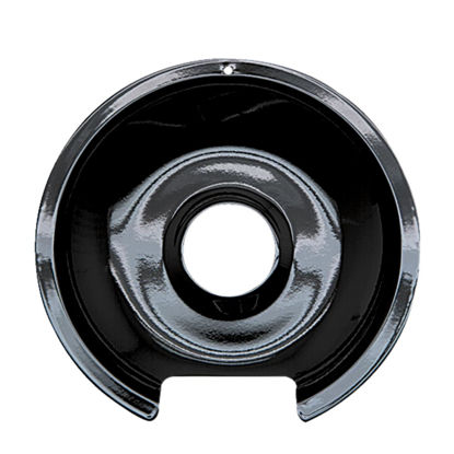 "Picture of Range Kleen Electric 8"" Style D Round Black  Drip Pan"