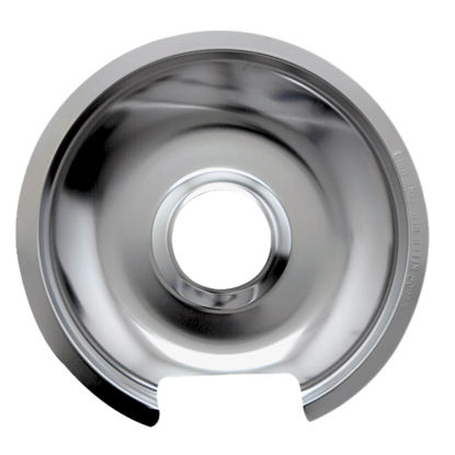 "Picture of Range Kleen Electric 8"" Style D Round Chrome Drip Pan"