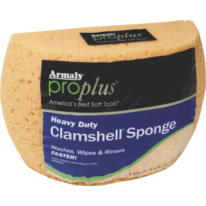 Picture of Armaly ProPlus 7.375 In. x 5 In. Yellow Heavy Duty Sponge