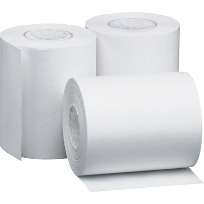 Picture of PM 2-1/4 In. x 85 Ft. White Thermal Calculator Paper Roll (3-Pack)