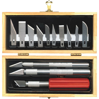 Picture of Techni Edge Hobby Knife Set (17-Piece)