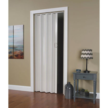 Picture of Spectrum Oakmont 36 In. W. x 80 In. H. White Accordion Folding Door