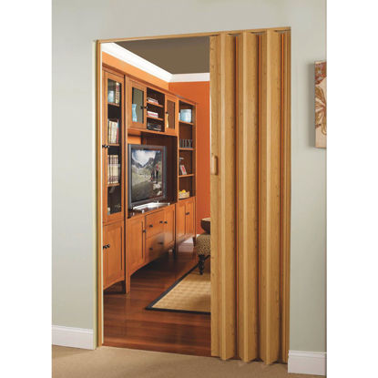 Picture of Spectrum Encore 24 In. to 36 In. W. x 80 In. H. Oak Accordion Folding Door