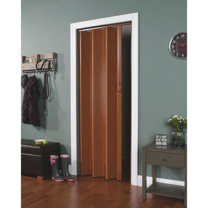 Picture of Spectrum Encore 24 In. to 36 In. W. x 80 In. H. Fruitwood Accordion Folding Door