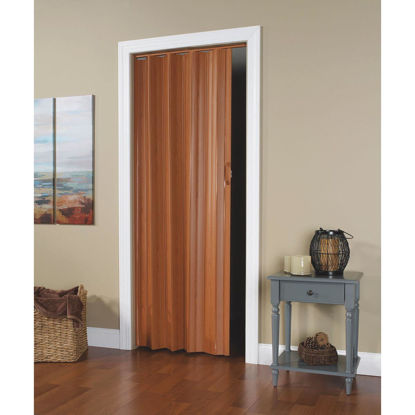 Picture of Spectrum Via 24 In. to 36 In. W. x 80 In. H. Fruitwood Accordion Folding Door