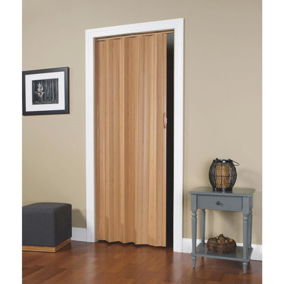 Picture of Spectrum Via 24 In. to 36 In. W. x 80 In. H. Oak Accordion Folding Door