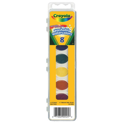 Picture of Crayola Washable Assorted Water Colors (8-Pack)