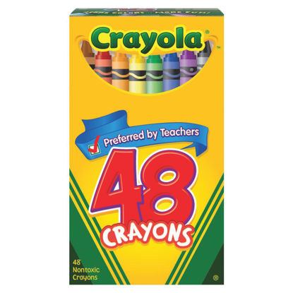 Picture of Crayola Traditional Crayons (48-Pack)