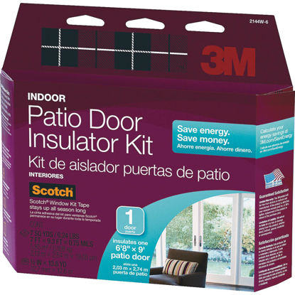 Picture of 3M Indoor 84 In. x 112 In. Patio Door Insulation Kit