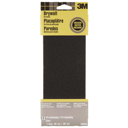 Picture of 3M Medium Grade 4-3/16 In. x 11-1/4 In. Precut Drywall Sanding Screen (2-Pack)