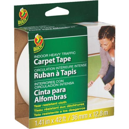 Picture of Duck Heavy Traffic 1.5 In. x 42 Ft. Indoor Carpet Tape