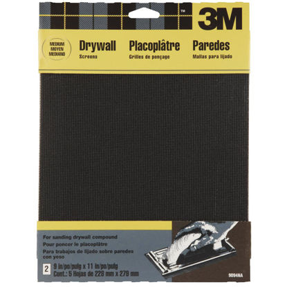 Picture of 3M Drywall Medium Grade 9 In. x 11 In. Sanding Screen (2-Pack)